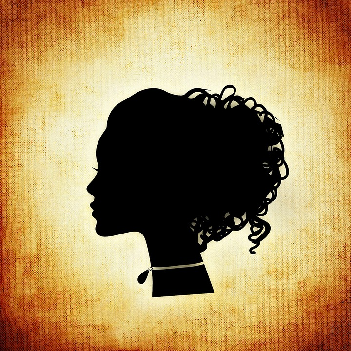 Free Illustration Woman Head Silhouette Abstract