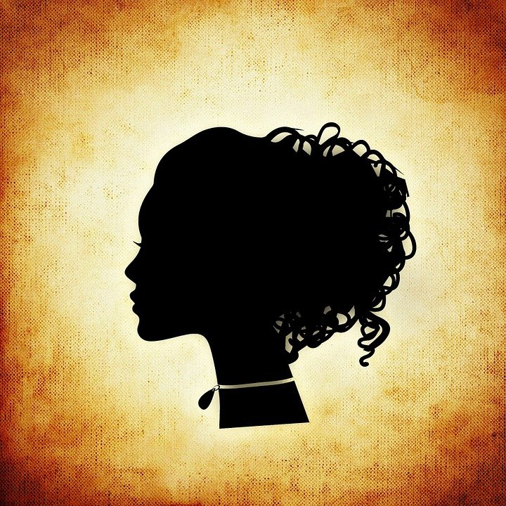 Free illustration: Woman, Head, Silhouette, Abstract ...