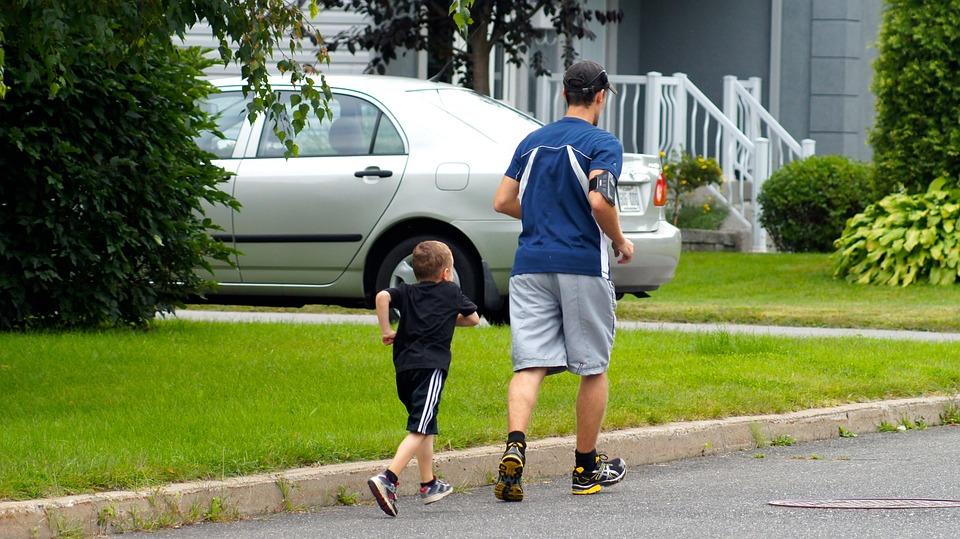 Corsa A Piedi, Sport, Formazione, Padre, Figlio
