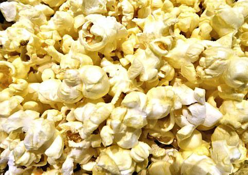 Pop Corn Butter Salt Snack Food Pop Corn P