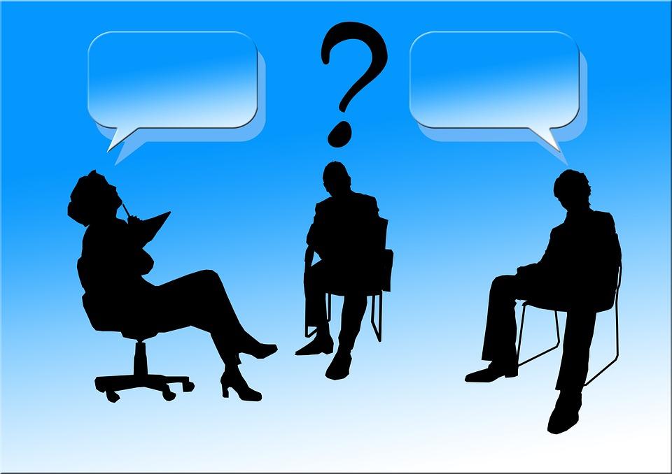 Silhouettes, Person, Human, Man, Woman, Businessmen