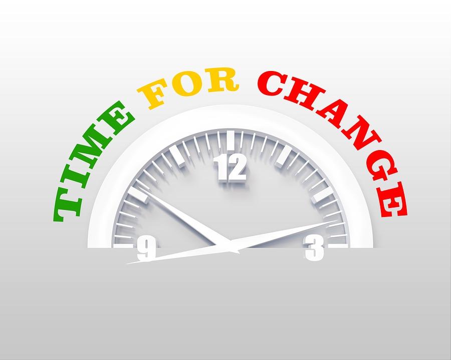 Wijzigen, Klok, Tijd, Nieuw Begin, Vernieuwing