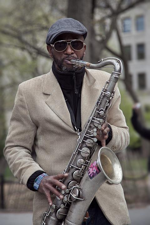 Sax Player Jazz New Free Photo On Pixabay
