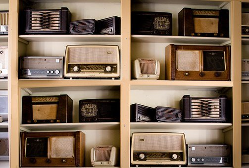 Radio Vintage 1950S 1960S Antique Old Broa