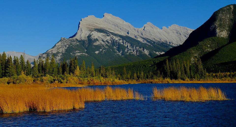 Free Photo Vermilion Lakes Free Image On Pixabay 777380