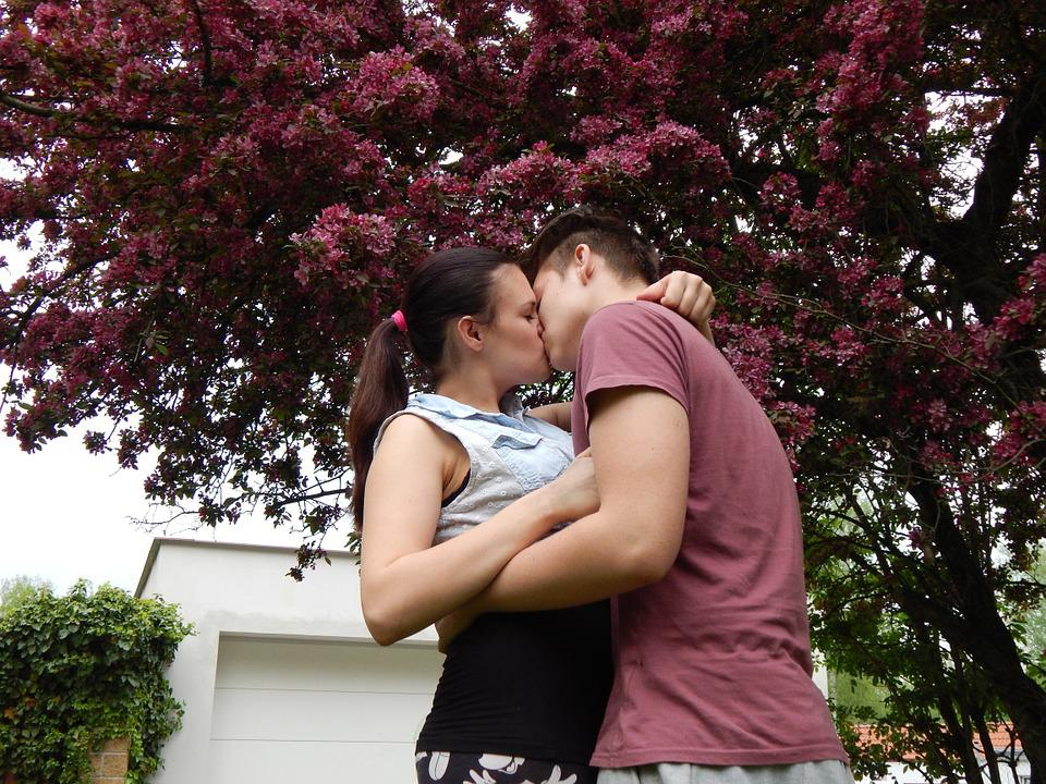 Free Photo Buddies, Boy, Girl, Love, Kiss - Free Image On -3830