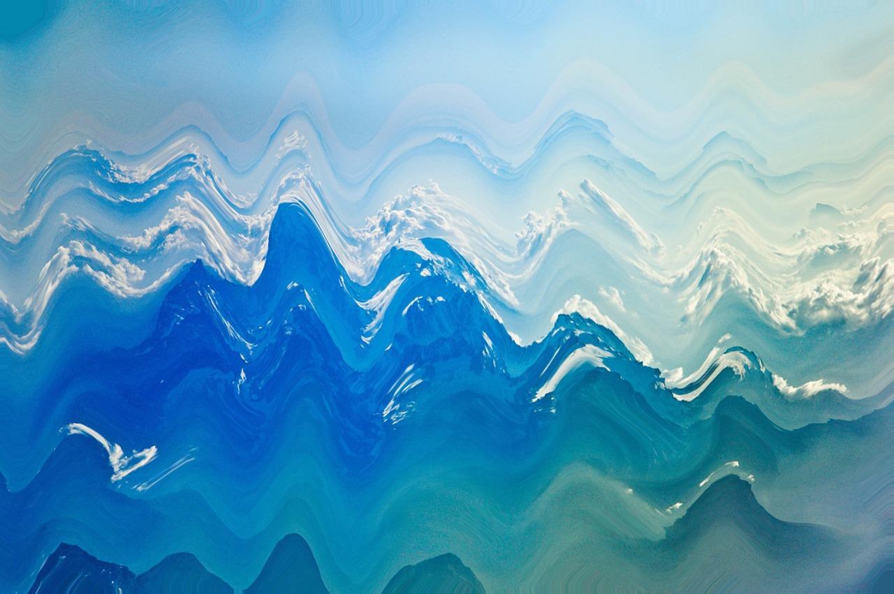 панели делают картинки волны моря шаблон подобрать для них