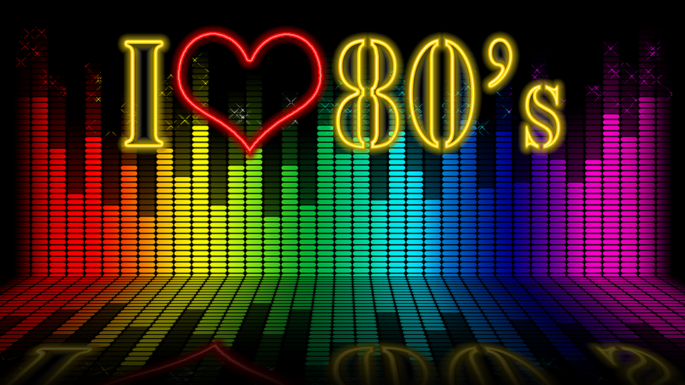 Wallpapper, Muziek, Kleuren, 80'S, Behang, Achtergrond