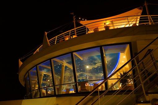 Cruise, Night, Starry Sky, Night Sky