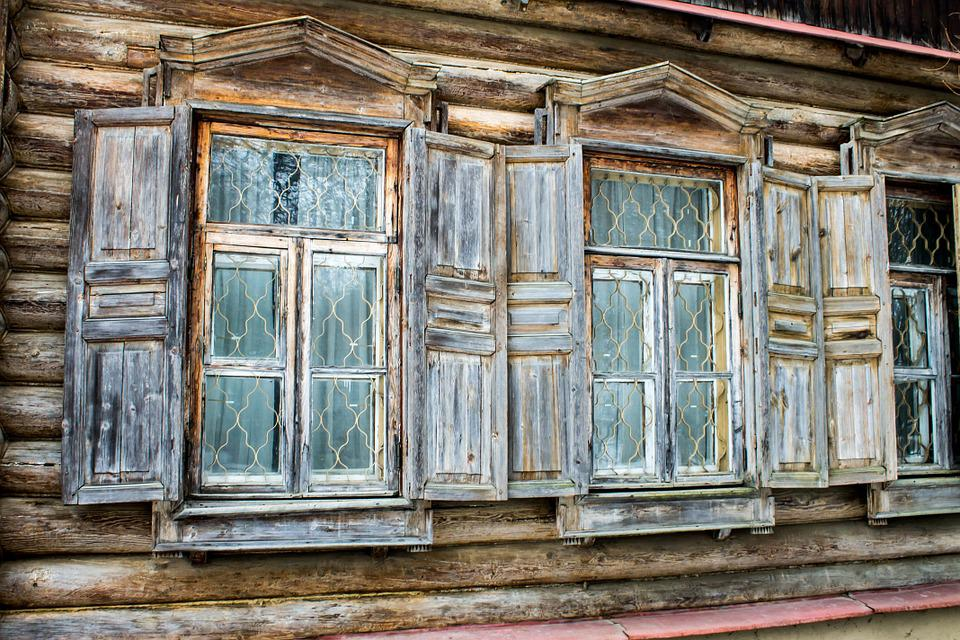 Kostenloses Foto Fenster Alte Holz Haus Kostenloses