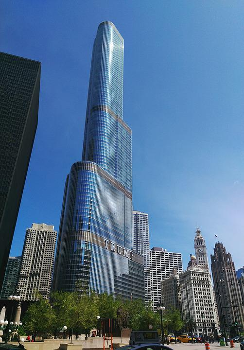 Chicago Skyline Trump Tower 183 Free Photo On Pixabay