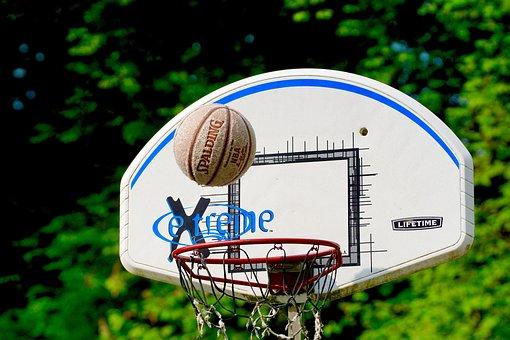 Basketball, Sport, Ball, Basket, Litter