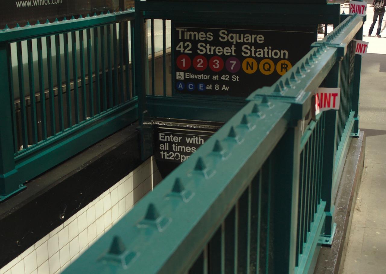 Subway Entrance NYC