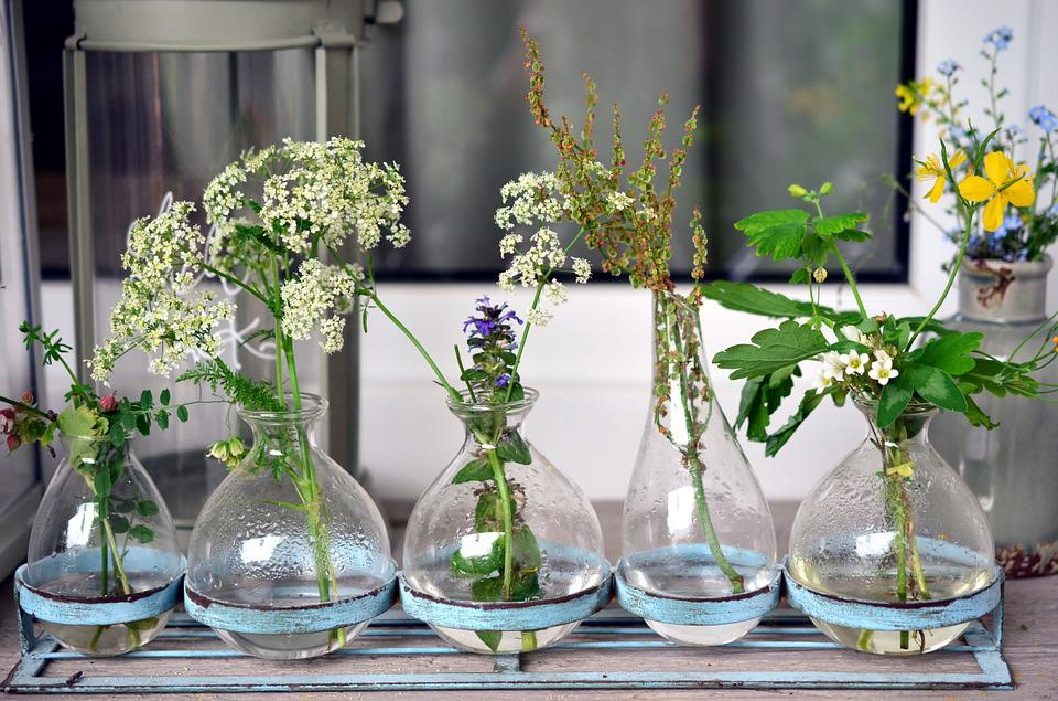 Kostenloses Foto Vasen, Glas, Glasvasen, Blume