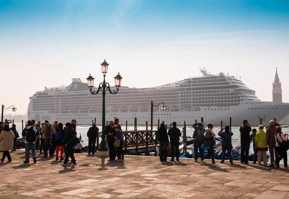 Venice, Cruise, Ship, Port, Sky