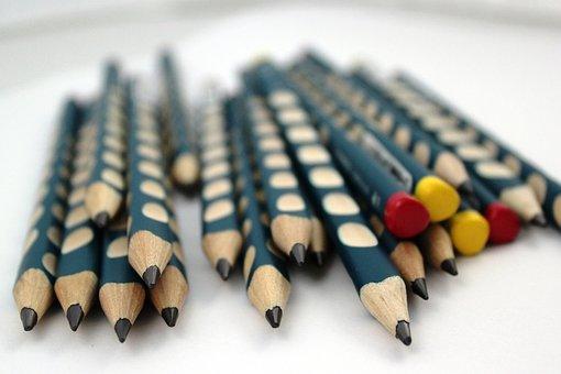 Pencil, Pencils, Writing, Child