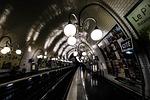 metro, france, paris