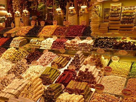 Bazaar, Market, Business, Turkey