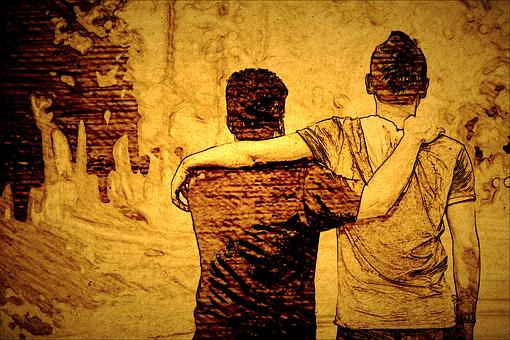 Hand, Freund, Menschen, Freundschaft