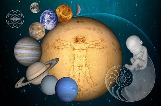 Universo, Nacimiento, Humano, Geometría