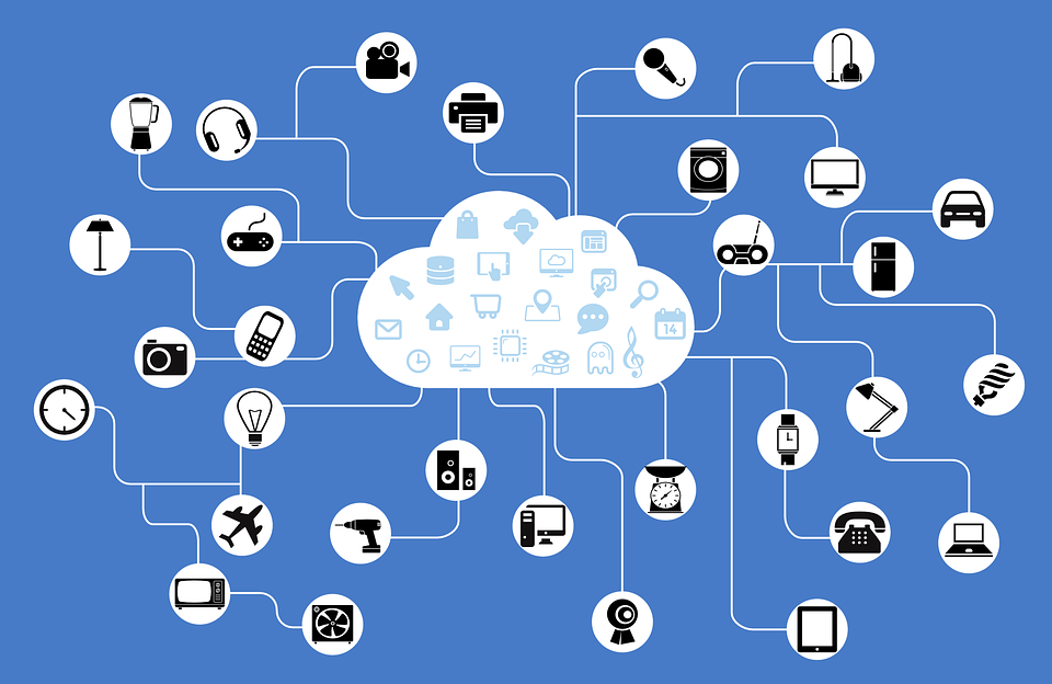 Network, Iot, Internet Of Things, Connection, Cloud