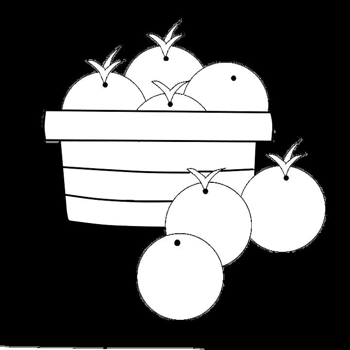 Keranjang Orange Makanan Gambar Gratis Di Pixabay