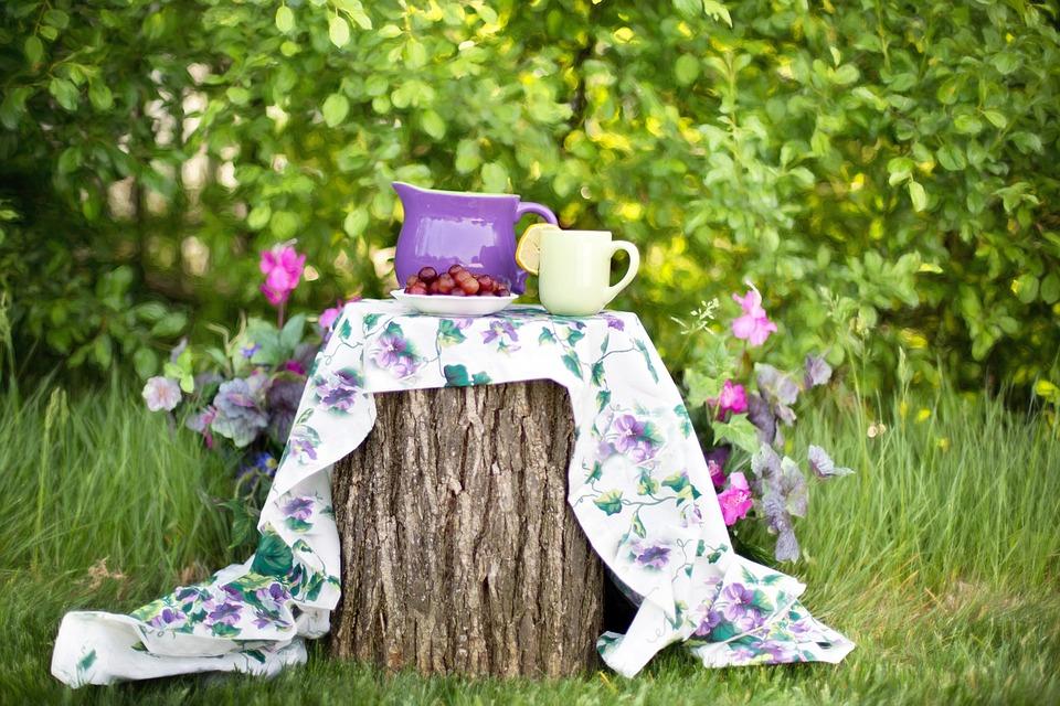 Garden, Tea Party, Afternoon Tea, Summer, Still Life