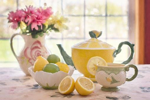 Tea with lemon 783352  340