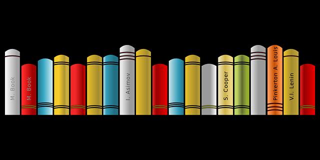 Free Vector Graphic Book Shelf Bookshelf Literature