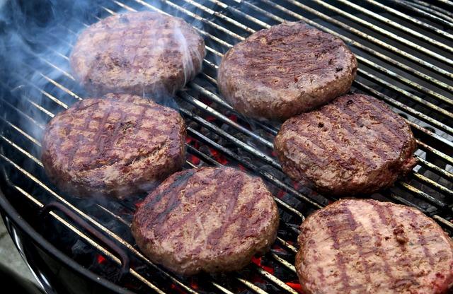 Free Photo Burger Hamburger Grill Barbecue Free