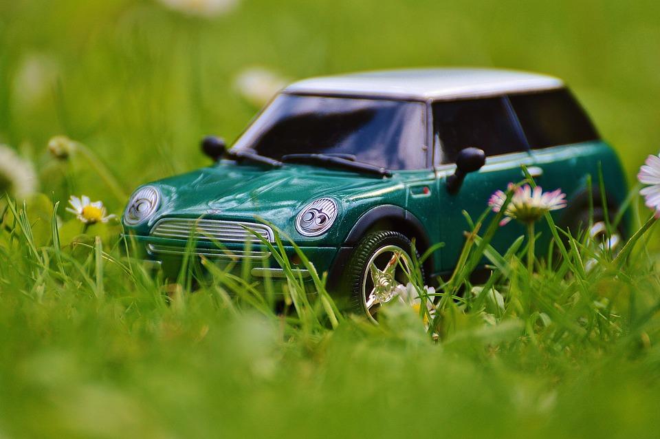 Mini Cooper, Automatique, Modèle, Véhicule, Mini, Vert