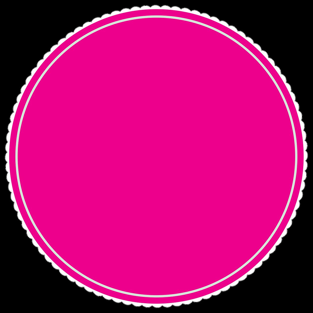 картинка розовые круги случае, когда вода