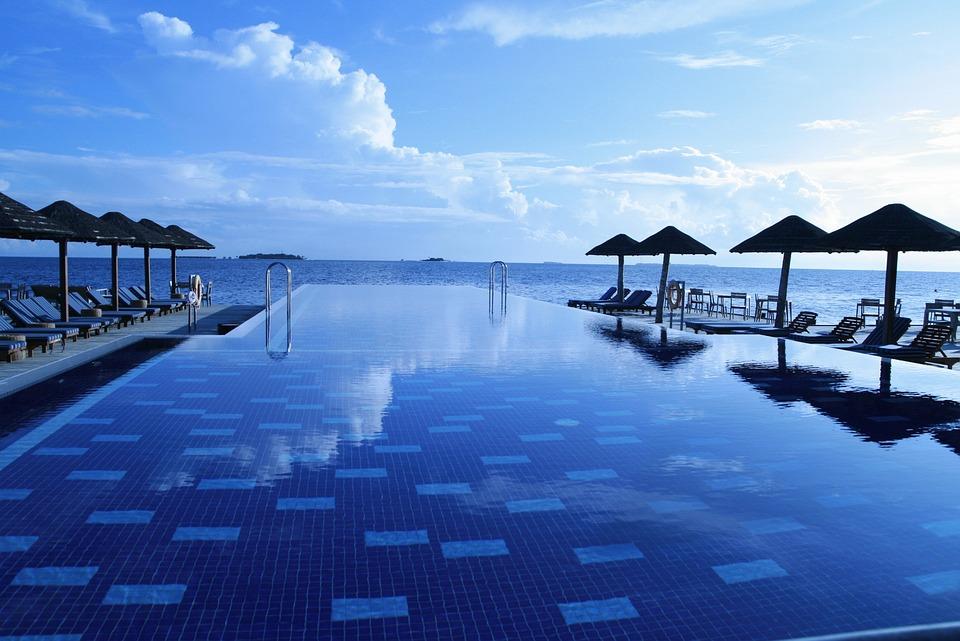 Free Photo Maldives Pool Sea Holiday Relax Free