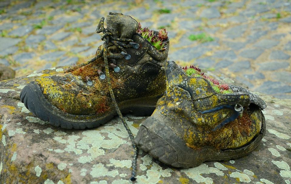 Schuhe Alt Dekoration Kostenloses Foto auf Pixabay