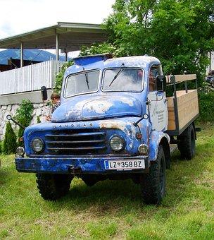 vieux camion voiture vtran doelsach