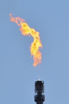 Petroquímica, Industria, Llama