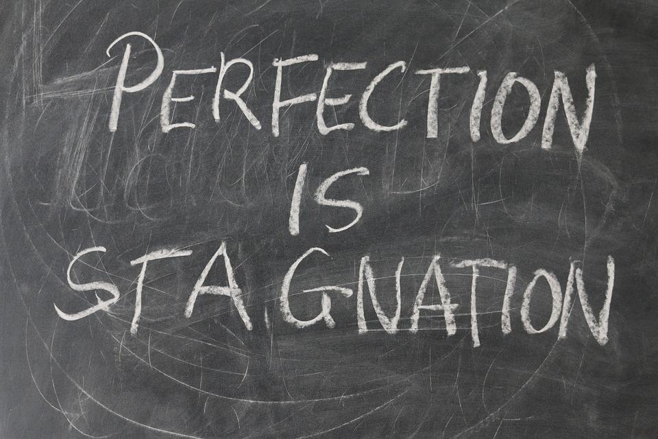 ボード, 学校, 完璧, 停滞, 重要です, 思う, スレート, チョーク, 黒板, 完璧主義, パターン