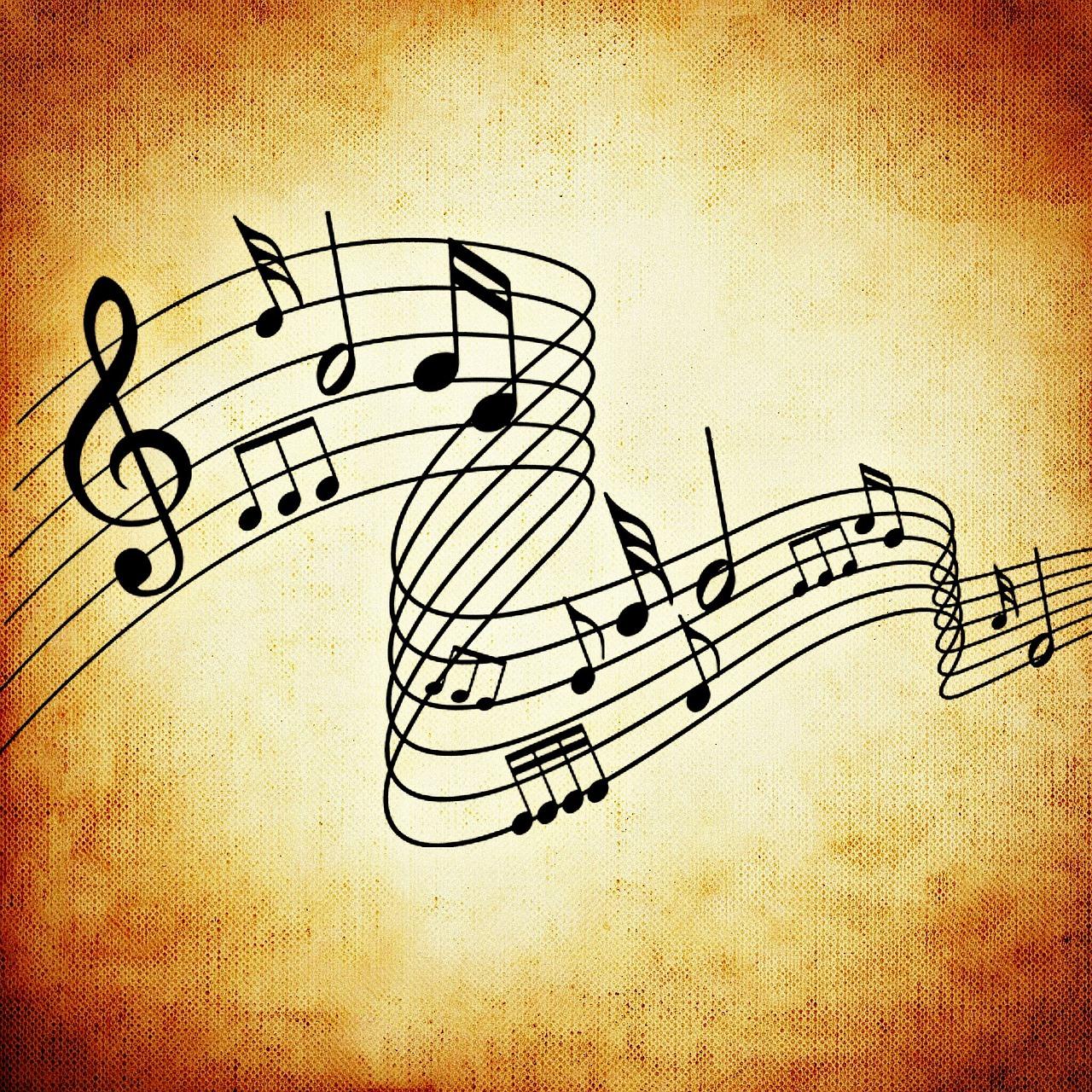 Красивая картинка к музыке