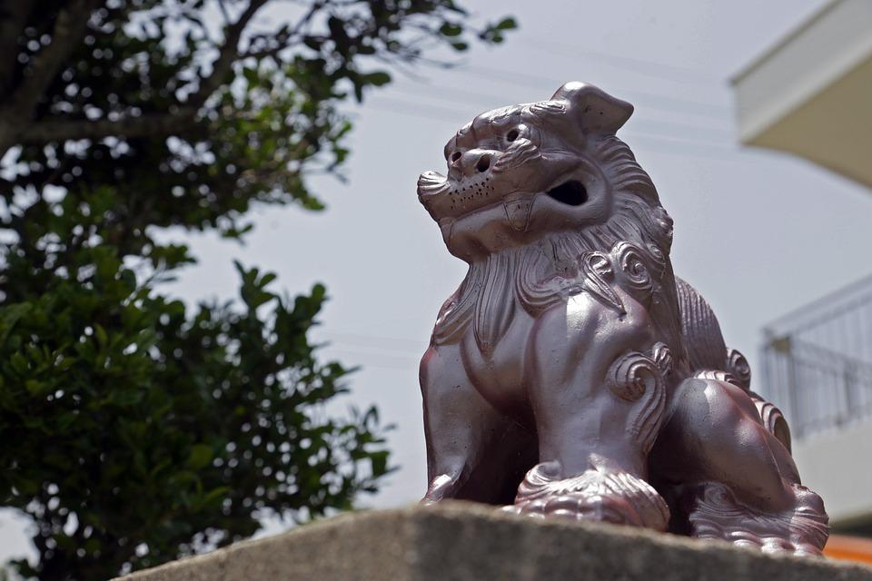 シーサー, 沖縄, 風景