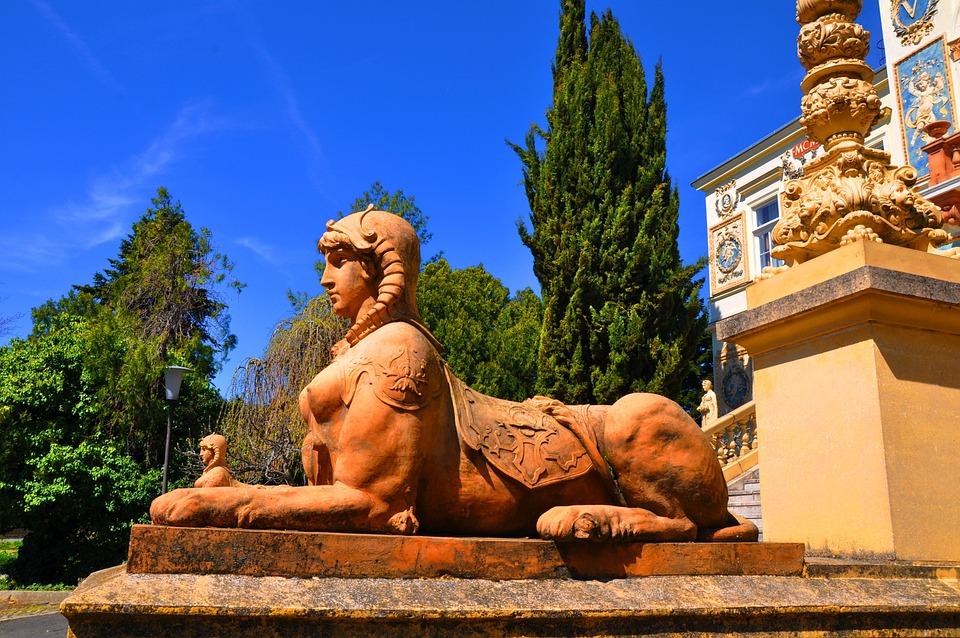 Female Statue, Mta Headquarters, Pecs, University