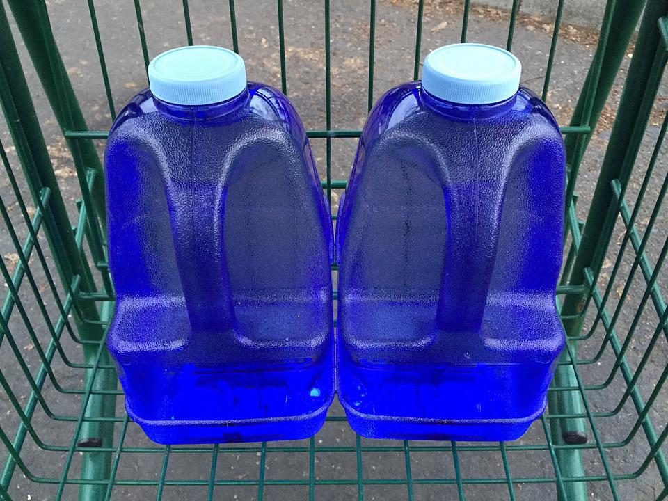 plastic gallon-16ounce to cup