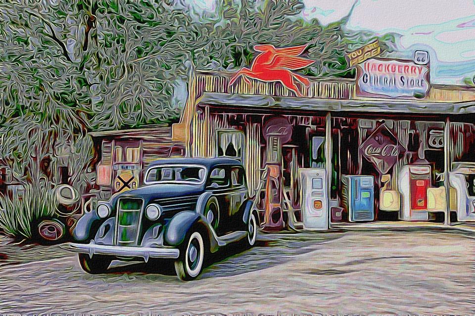 Car Shop Old · Free image on Pixabay