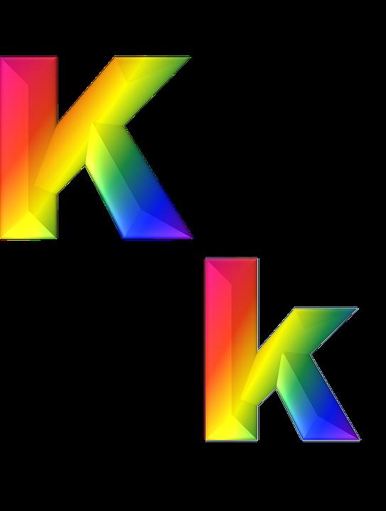 Letter K 3D · Free Image On Pixabay