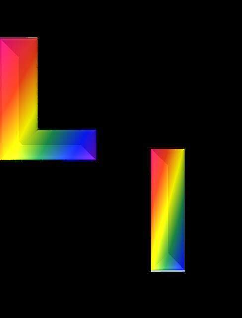 Illustrazione Gratis: Lettera, L, 3D, Abc, Alfabeto