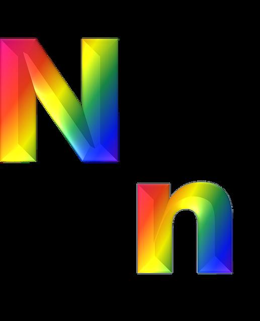 Letter N 3d 183 Free Image On Pixabay