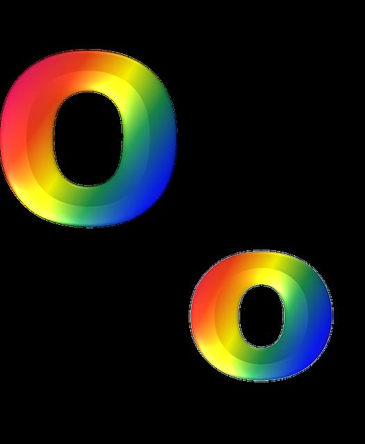 Letter O 3D · Free image on Pixabay