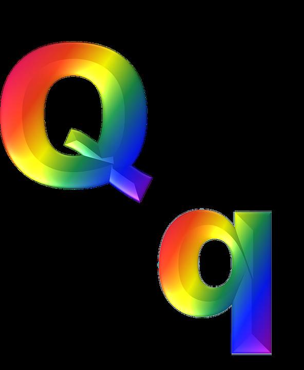 Free Illustration Letter Q 3D Abc Alphabet