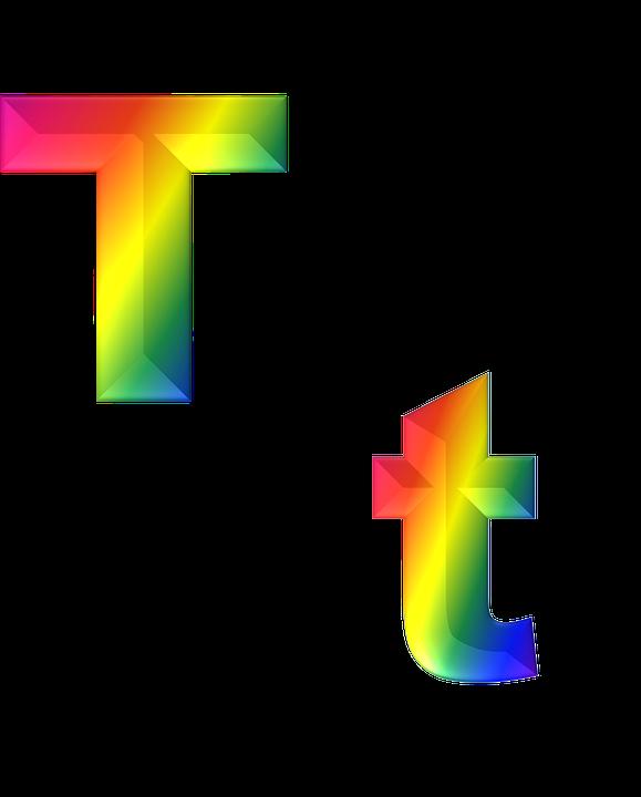 Letter T 3D · Free image on Pixabay