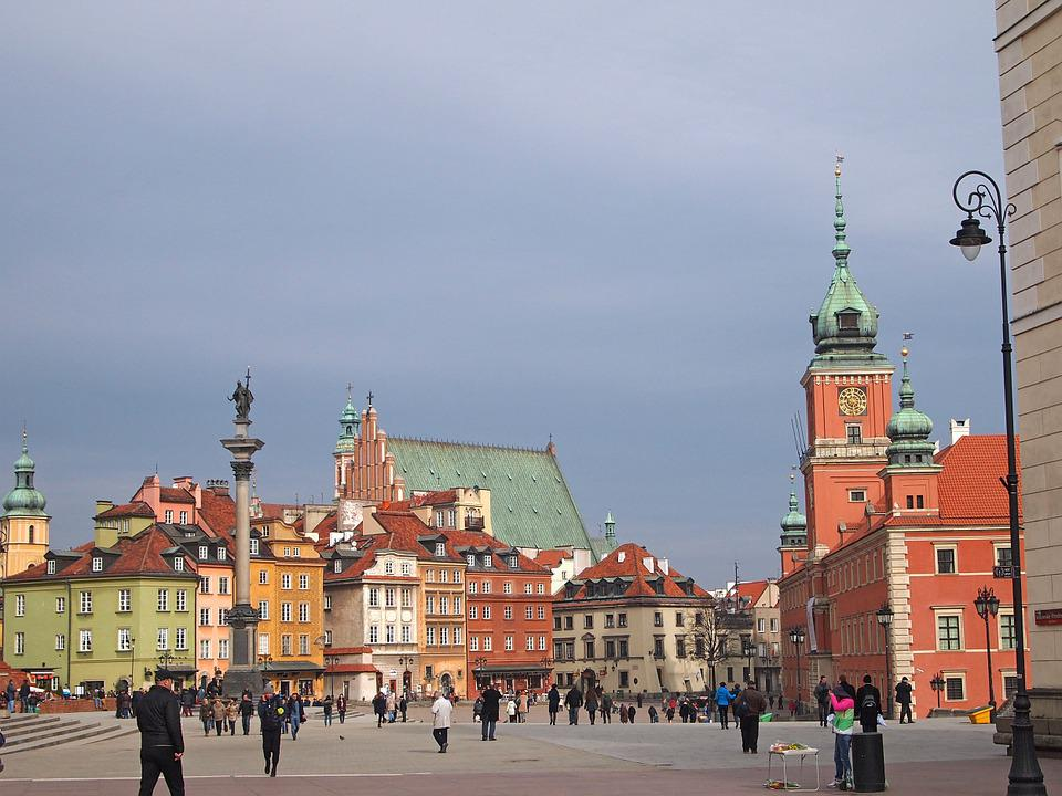Warsaw, The Old Town, Poland, Monuments, Old Town, City
