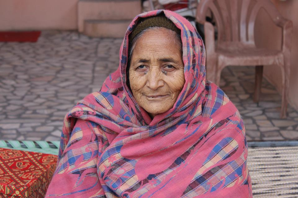Old Lady India Patiala  Free Photo On Pixabay-1494